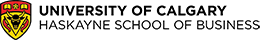 University of Calgary|Haskayne School of Business Logo